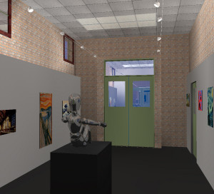 School Art Gallery